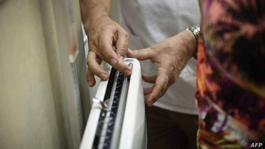 مقياس للوزن. أرشيفية