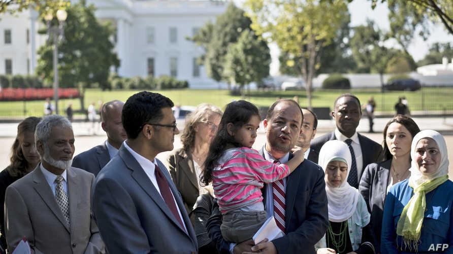 ناشطون سوريون في واشنطن يدعون الإدارة الأميركية لقبول مزيد من  اللاجئين-لآرشيف