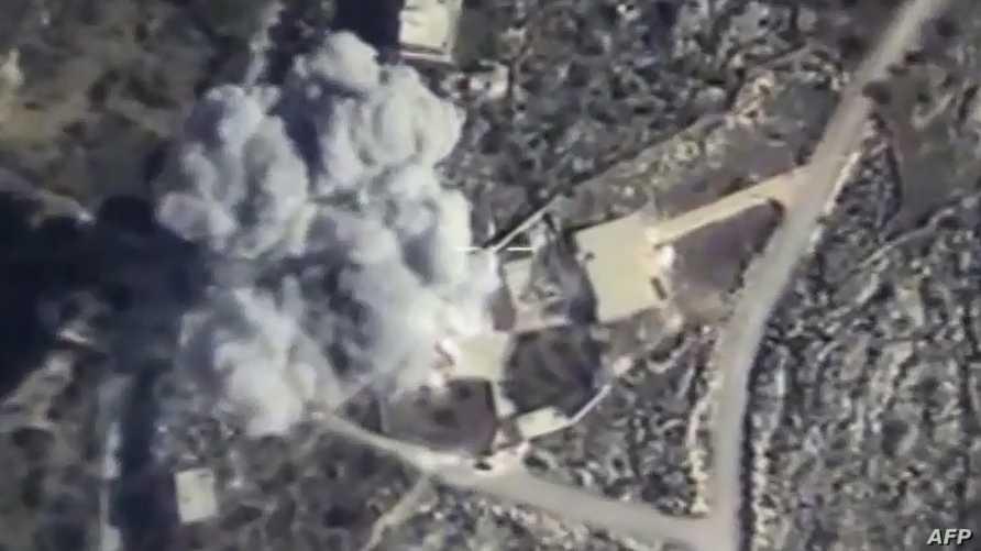 قصف روسي في سوريا - أرشيف