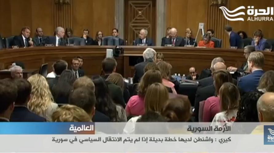 جلسة للجنة العلاقات الخارجية في مجلس الشيوخ