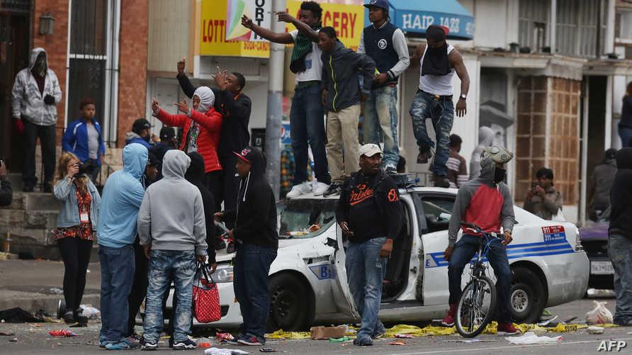 أعمال العنف في بالتيمور