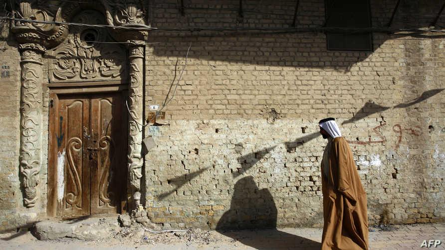 أحد الشوارع العراقية القديمة