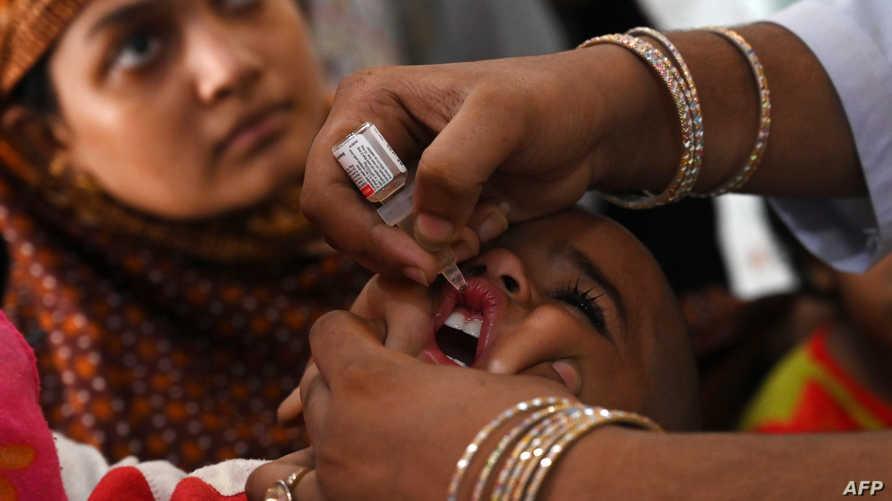 النوع الأول من فيروس شلل الأطفال لا يزال متوطنا في باكستان وأفغانستان