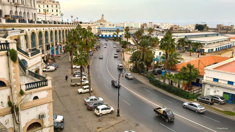 إحدى البنايات في الجزائر العاصمة