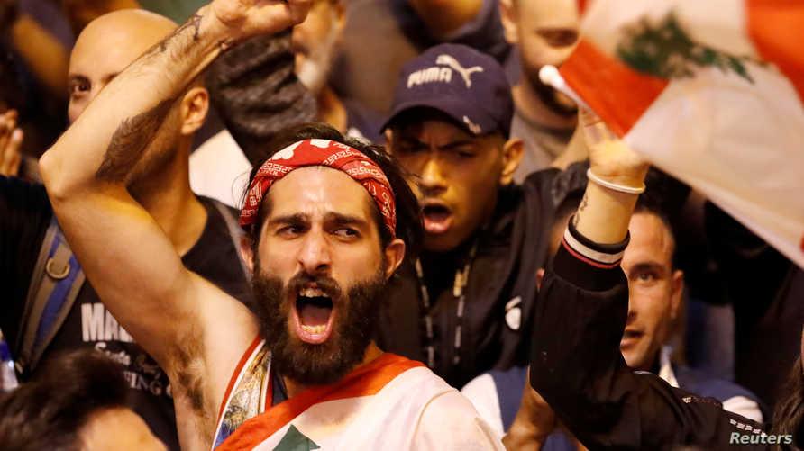 المظاهرات مستمرة في معظم المناطق اللبنانية.
