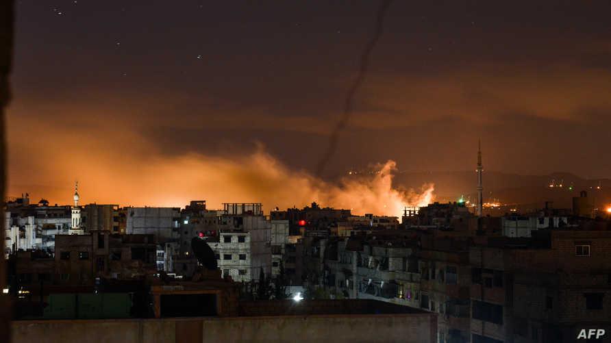 آثار قصف في سورية-أرشيف