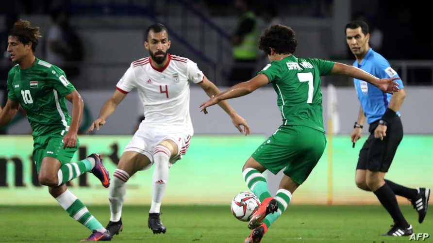 قمة المجموعة الرابعة بين العراق وإيران انتهت بالتعادل دون أهداف