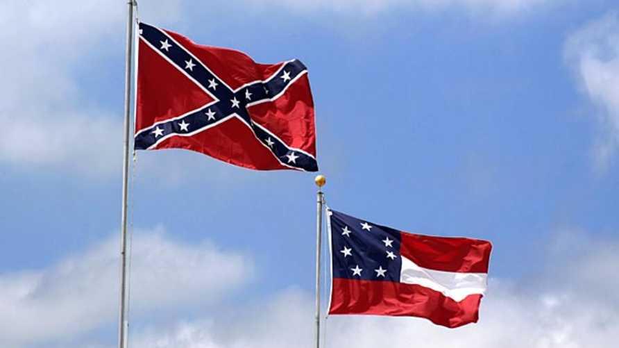 علم من الأعلام الكونفدرالية الأميركية