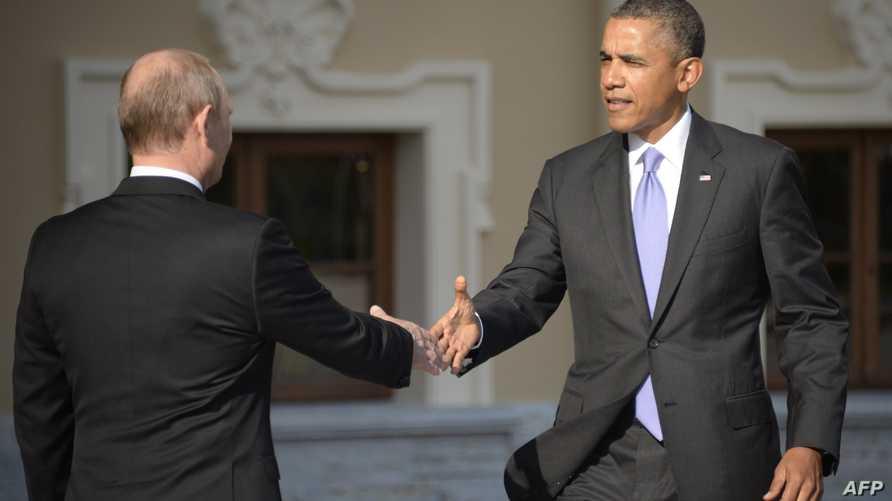 أوباما وبوتين خلال قمة مجموعة الـ20 في الصين