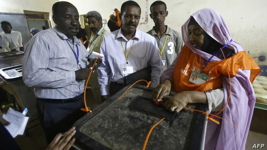 انتهاء عملية الاقتراع في السودان