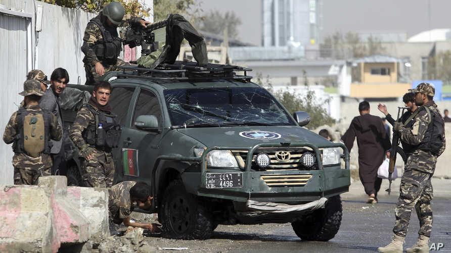 قوات أمن أفغانية - أرشيف