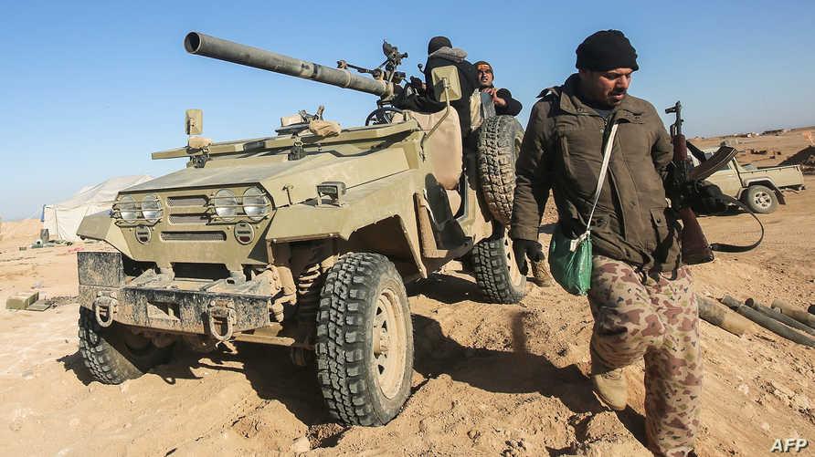 قوات عراقية غرب الموصل