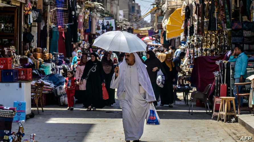 أحد أسواق القاهرة