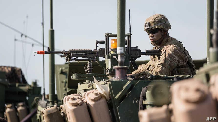 جندي أميركي خلال تدريبات للناتو في بولندا، أرشيف