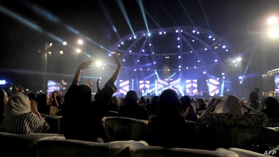 حفل غنائي سابق في جدة
