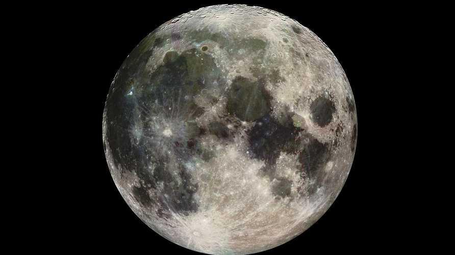 صورة للقمر من وكالة ناسا