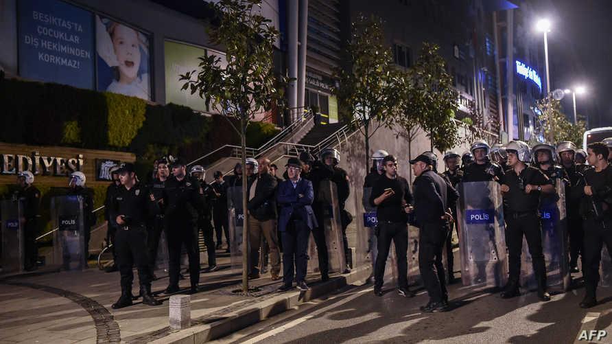 قوات الأمن تنتشر في العاصمة التركية بعد إعلان نتائج الاستفتاء