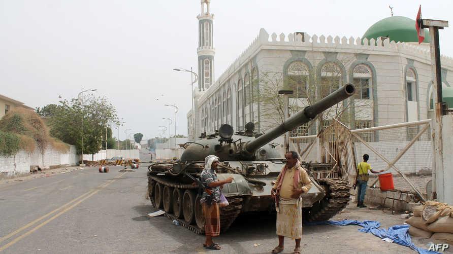 مؤيدون للمتمردين الحوثيين
