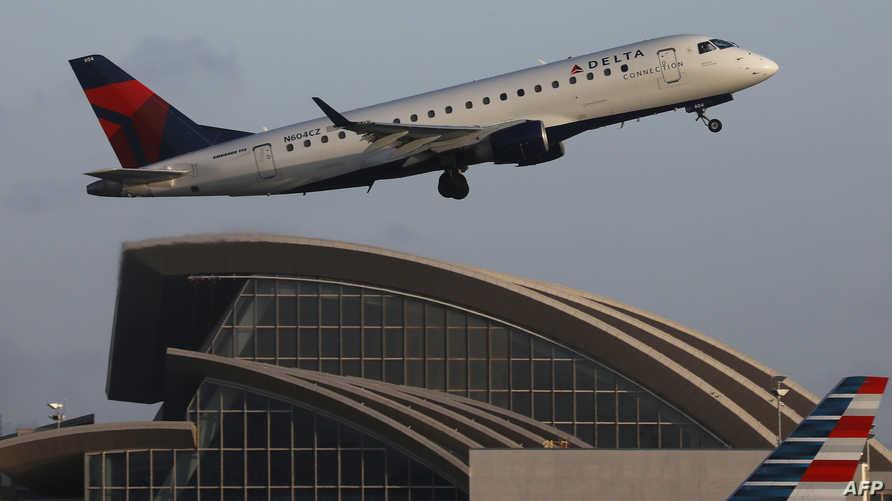 طائرة تابعة لخطوط دلتا