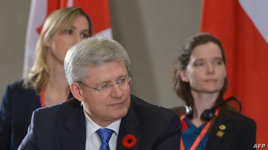 رئيس الوزراء الكندي ستيفن هاربر