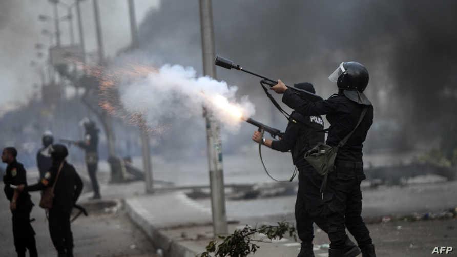 فك اعتصام مؤيدي الرئيس السابق محمد مرسي
