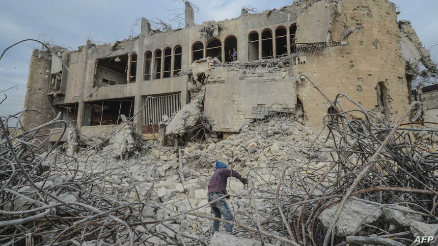 """الجماعات التابعة لـ """"قوات الحشد الشعبي"""" احتكرت سوق المعادن الخردة قرب الموصل، مما أعاق جهود إعادة الإعمار المحلية في حين ساعدت الميليشيات على كسب ملايين الدولارات"""
