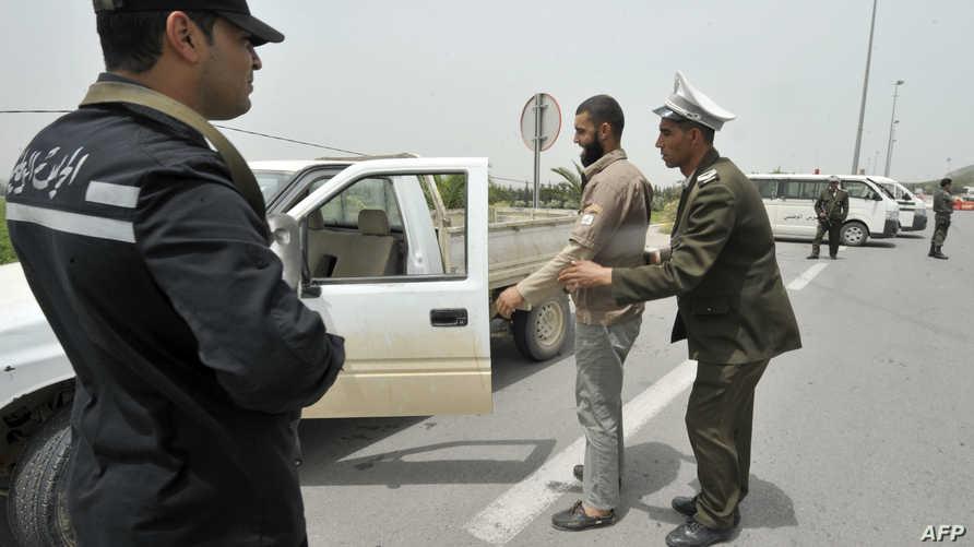 إجراءات أمنية مشددة في تونس-أرشيف