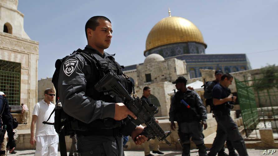 قوات إسرائيلية في القدس -أرشيف
