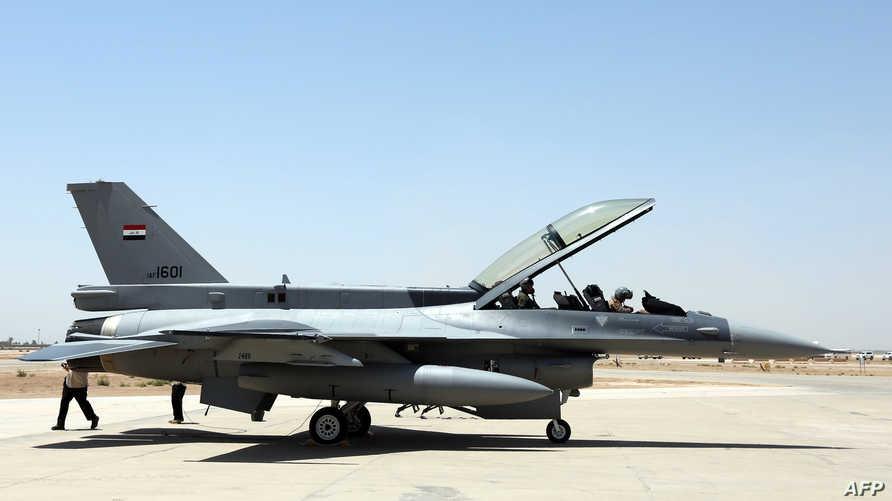 طائرة عراقية من طراز F-16