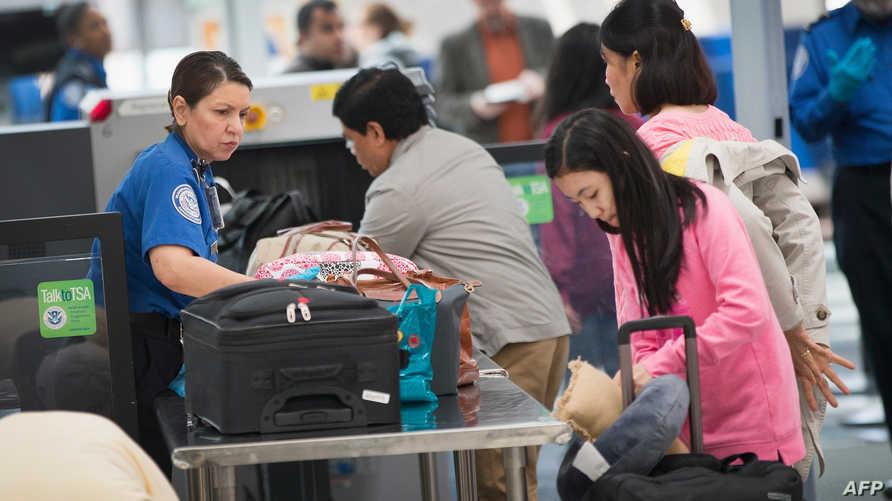 نقطة تفتيش تابعة لـTSA في مطار أوهير في شيكاغو- أرشيف