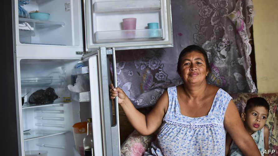 الثلاجات فارغة في فنزويلا