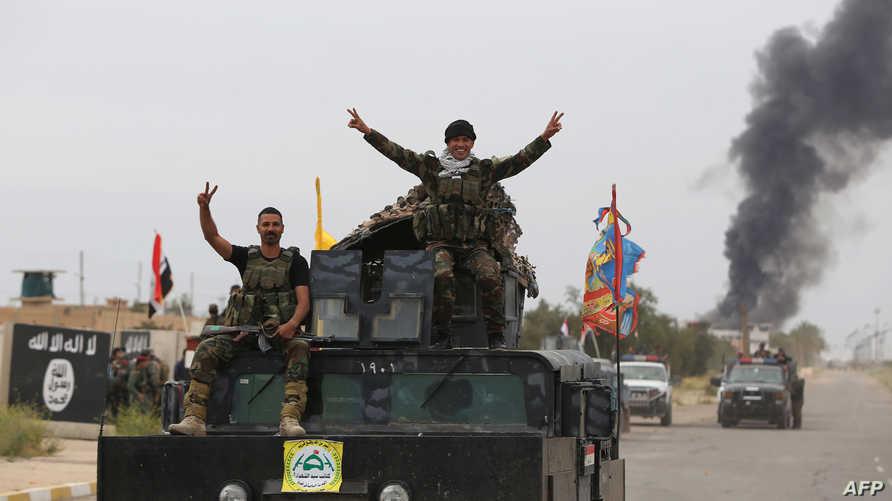 جنود عراقيون في تكريت
