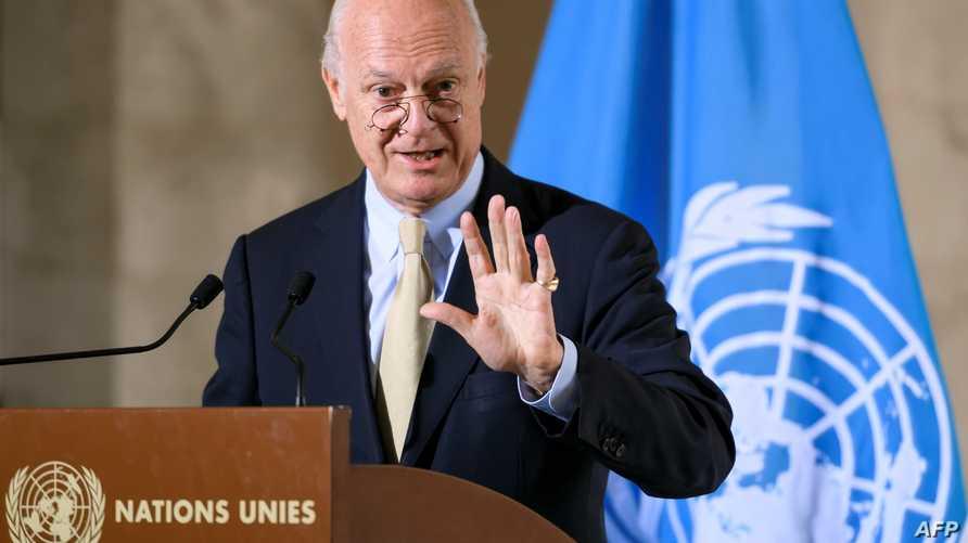 مبعوث الأمم المتحدة الخاص إلى سورية ستافان دي ميستورا