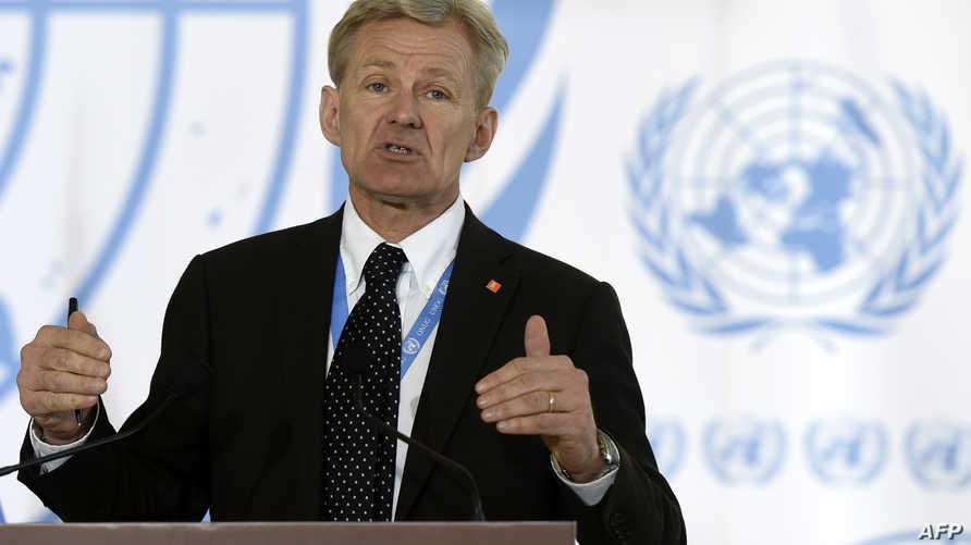 مستشار المبعوث الدولي إلى سورية جان إيغلاند