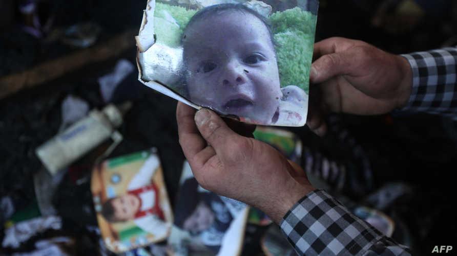 صورة الرضيع علي دوابشة
