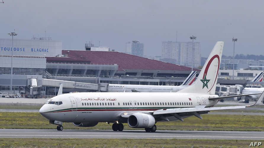 طائرة تابعة للخطوط المغربية