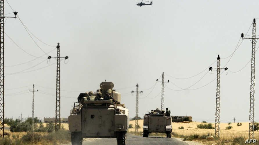 قوات مصرية في سيناء- أرشيف