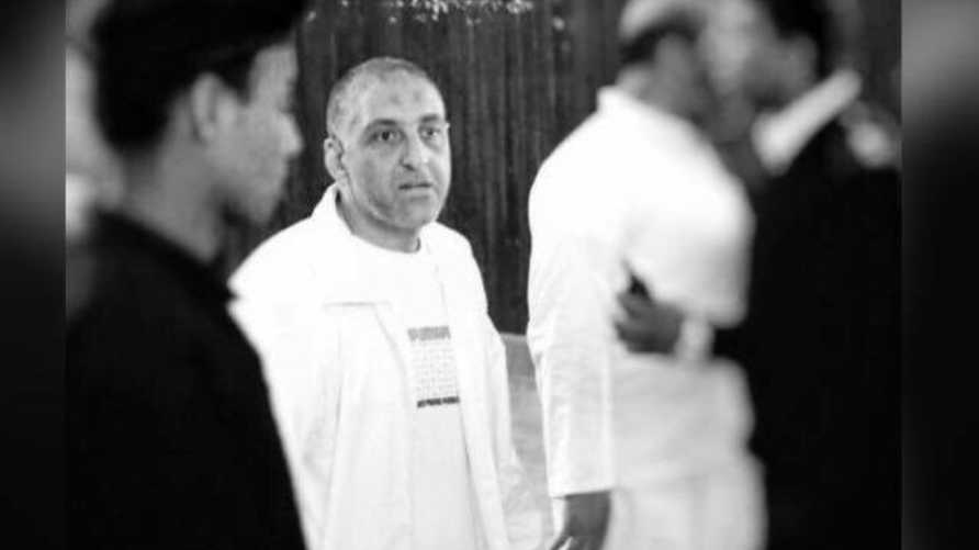 الصحفي هشام جعفر في المحكمة