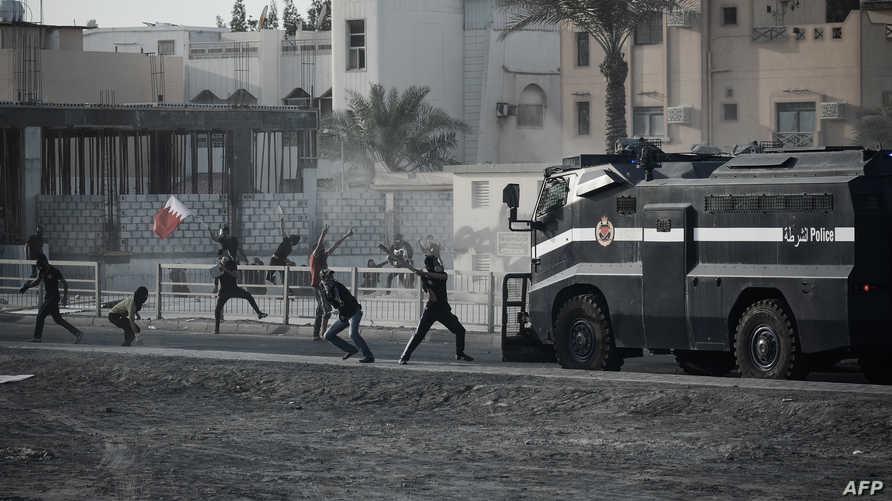 اشتباكات بين قوات الأمن ومحتجين في الذكرى الثانية لاندلاع الحركة الاحتجاجية في البحرين