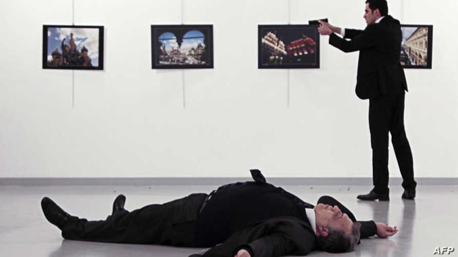 صورة تظهر قاتل السفير الروسي