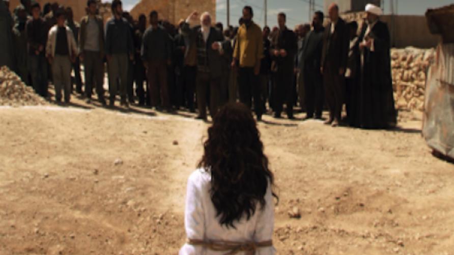 """لقطة من فيلم """"رجم ثريا"""" الإيراني"""