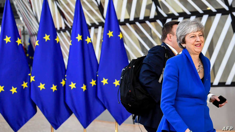 ماي تصل إلى اجتماع المجلس الأوروبي في بروكسل الأربعاء