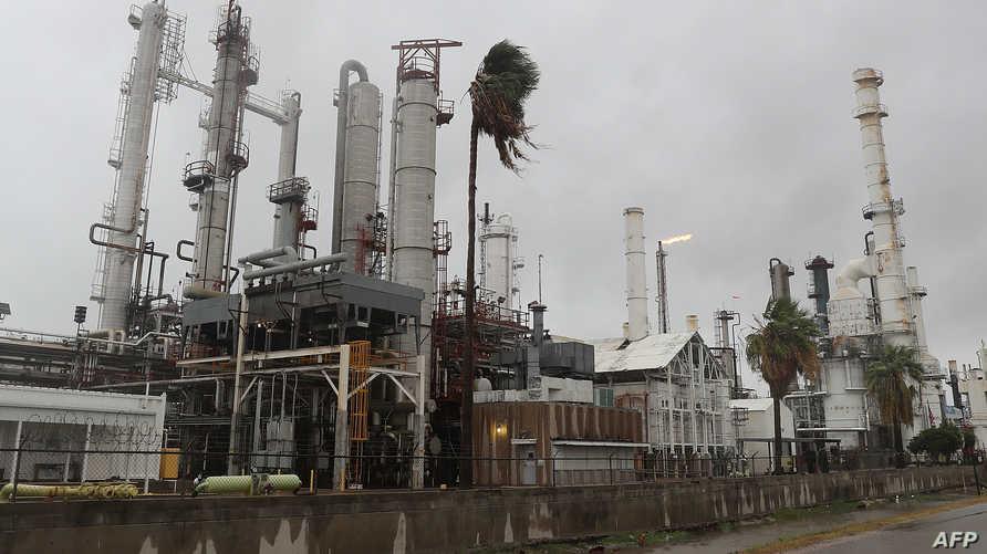 إحدى مصافي النفط في تكساس