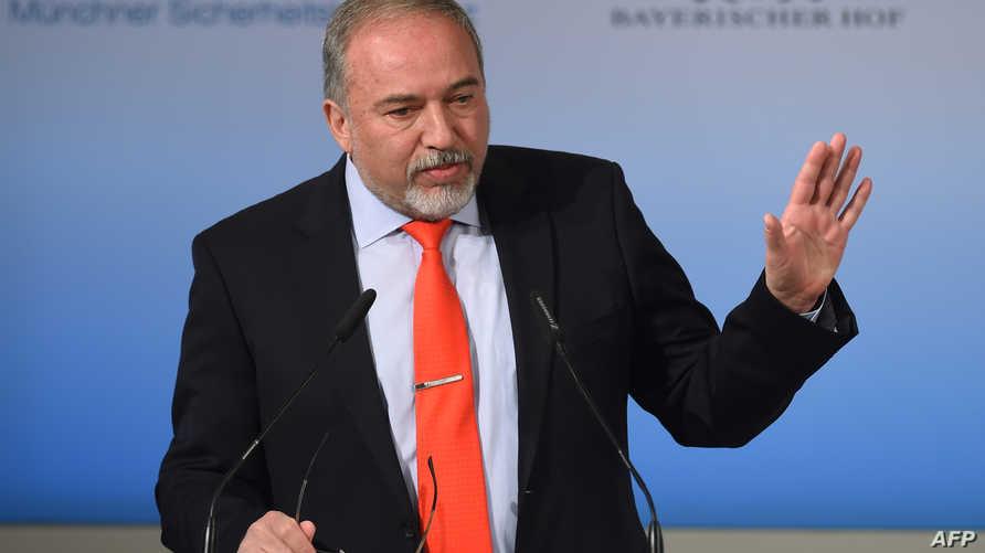 وزير الدفاع الإسرائيلي في مؤتمر ميونخ