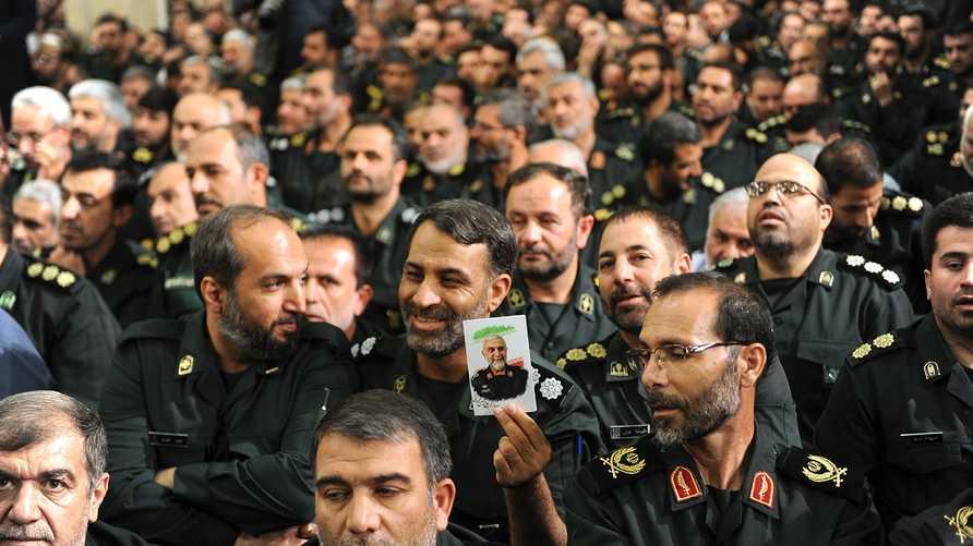 قيادات من الحرس الثوري الإيراني