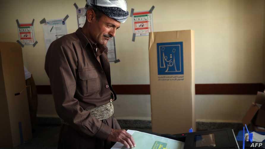 من الانتخابات النيابية العراقية في أربيل