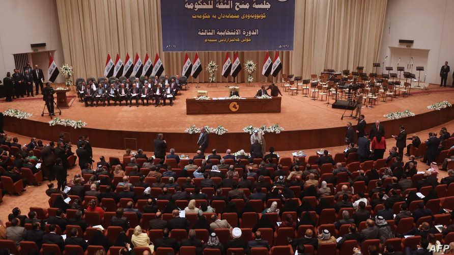 جانب من جلسة في البرلمان العراقي - أرشيف