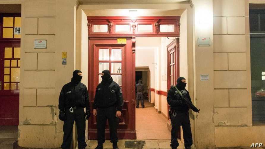 الشرطة الألمانية تنفذ مداهمات واعتقالات في برلين