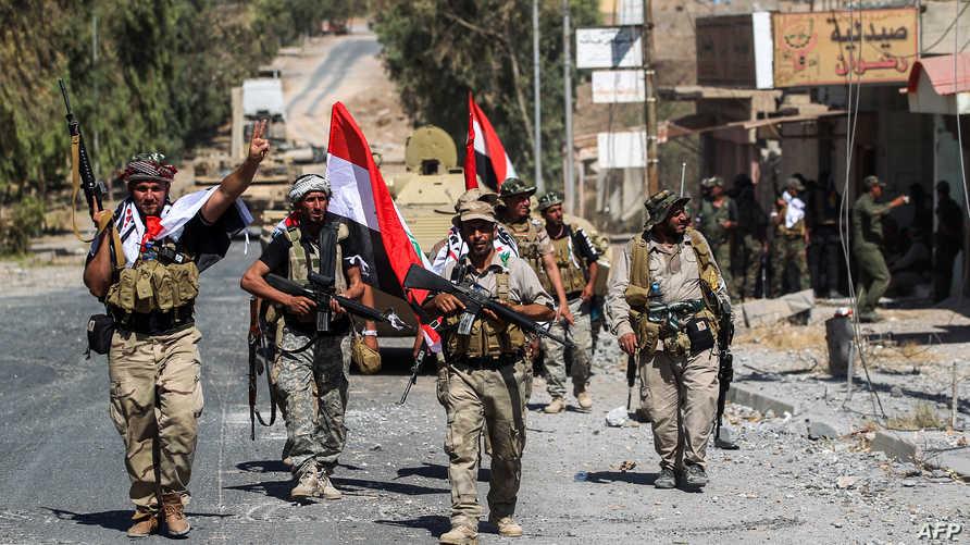 قوات عراقية في مدينة تلعفر