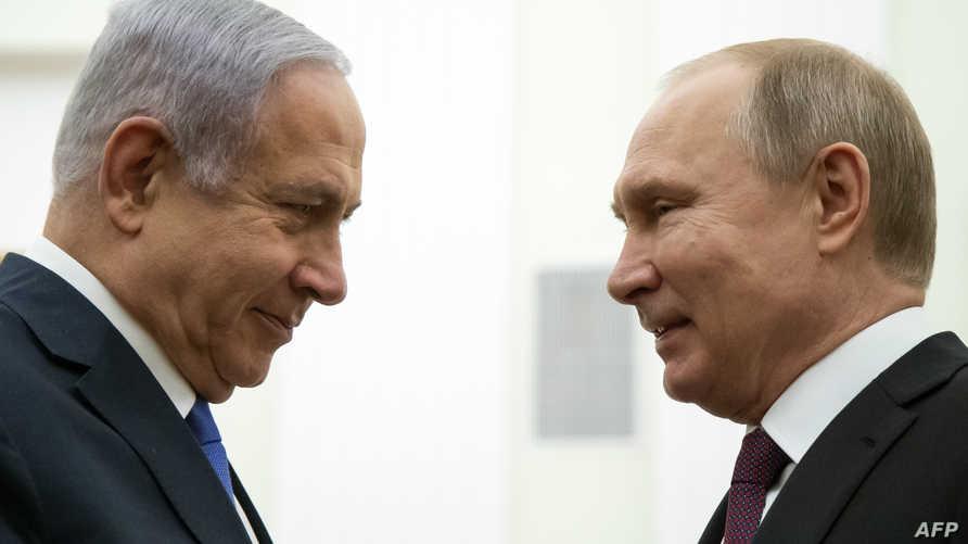 بوتين مستقبلا نتانياهو